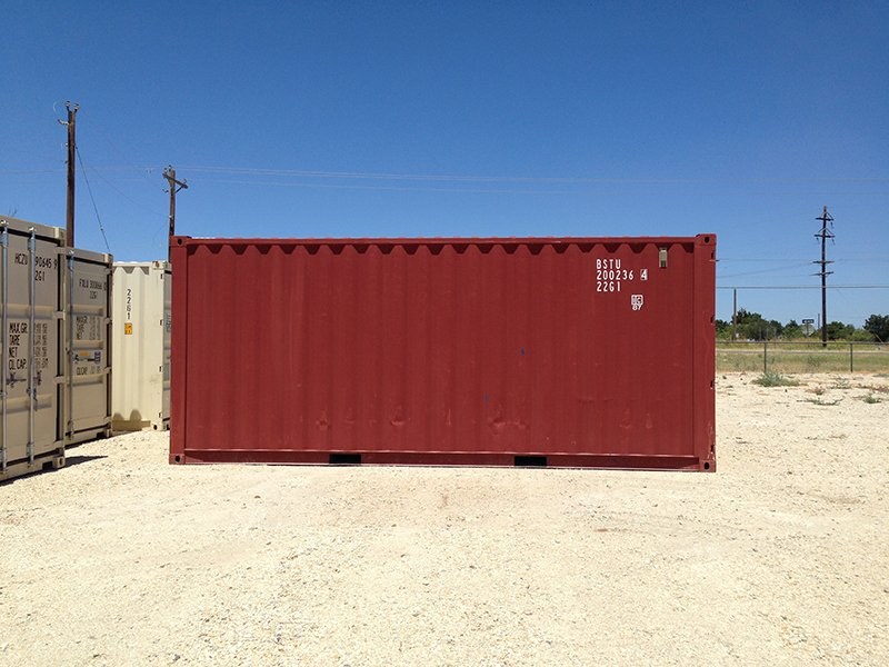 20 ft. Rental Container