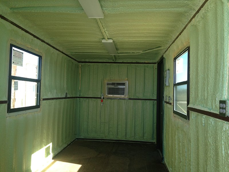 Spray Foam Insulation Eagle Storage Containers